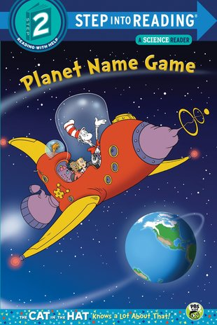 Step into Reading: The Cat in the Hat - Planet Name Game