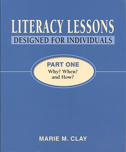 Literacy Lessons: Designed for Individuals - Part One