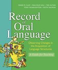 Record of Oral Language