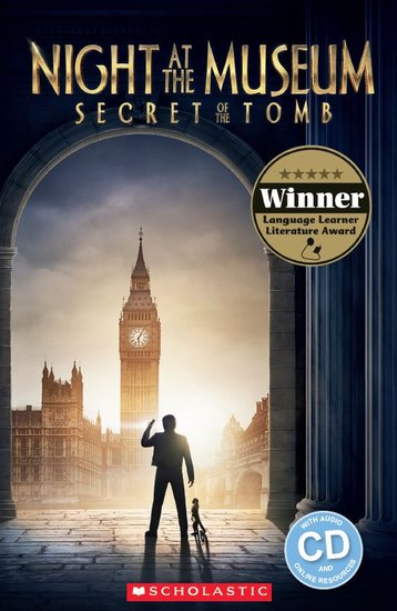 Night at the Museum: Secret of the Tomb (Book and CD)
