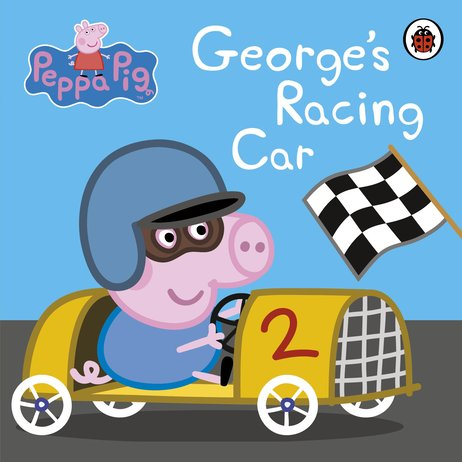Peppa Pig George S Racing Car Book