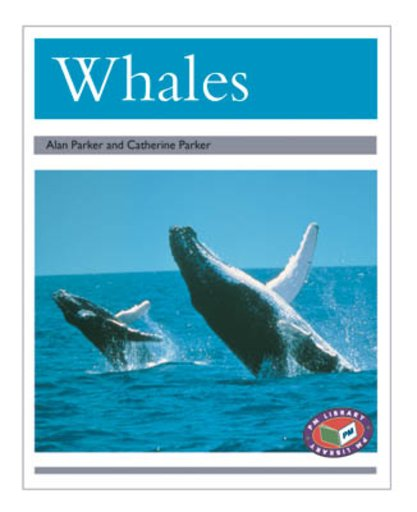 PM Silver: Whales (PM Non-fiction) Levels 23, 24 x 6
