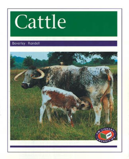 PM Purple: Cattle (PM Non-fiction) Levels 19, 20 x 6