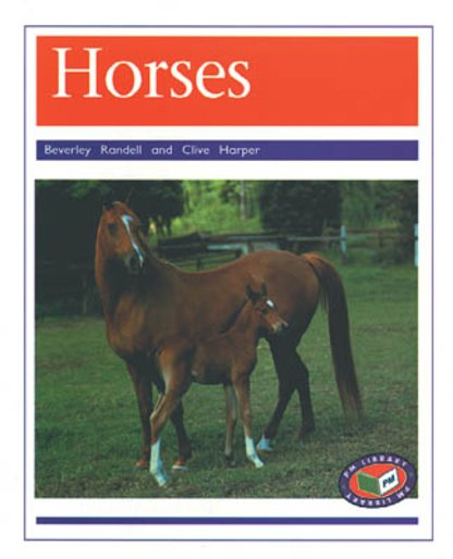 PM Purple: Horses (PM Non-fiction) Levels 19, 20 x 6