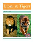 PM Turquoise: Lions and Tigers (PM Non-fiction) Levels 18, 19 x 6