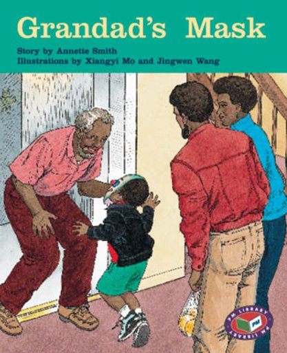 PM Turquoise: Grandad's Mask (PM Storybooks) Level 18 x 6