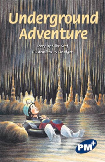 PM Sapphire: Underground Adventure (PM Plus Chapter Books) Level 29 x 6