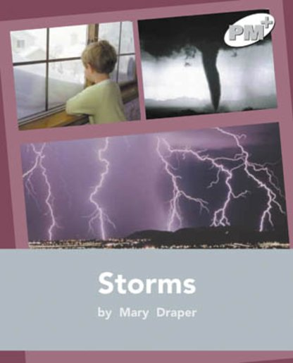 PM Silver: Storms (PM Plus Non-fiction) Levels 24, 25 x 6