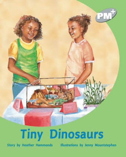 PM Silver: Tiny Dinosaurs (PM Plus Storybooks) Level 23 x 6