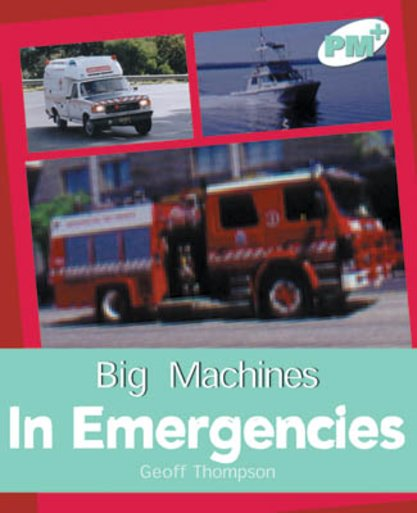 PM Turquoise: In Emergencies (PM Plus Non-fiction) Levels 18, 19 x 6