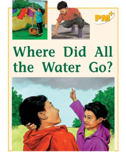 PM Yellow: Where Did All the Water Go? (PM Plus Non-fiction) Levels 8, 9 x 6