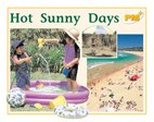 PM Yellow: Hot Sunny Days (PM Plus Non-fiction) Levels 8, 9 x 6