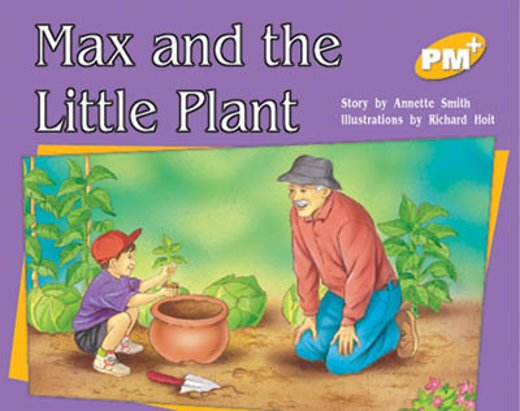 PM Yellow: Max and the Little Plant (PM Plus Storybooks) Level 8 x 6