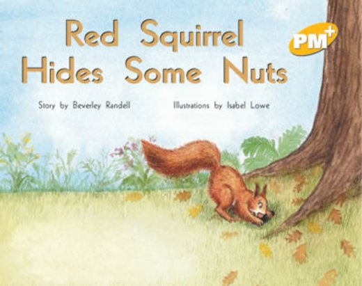 PM Yellow: Red Squirrel Hides Some Nuts (PM Plus Storybooks) Level 7 x 6