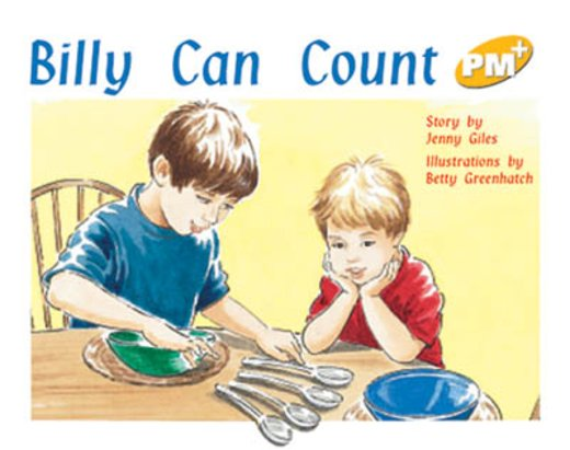 PM Yellow: Billy Can Count (PM Plus Storybooks) Level 6 x 6