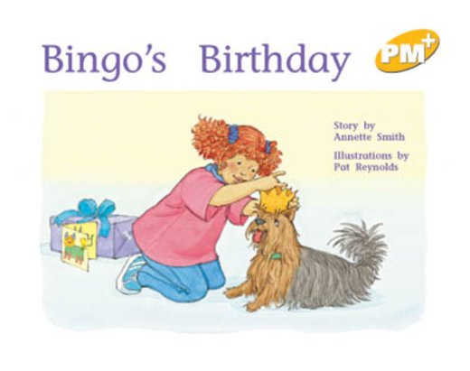 PM Yellow: Bingo's Birthday (PM Plus Storybooks) Level 7 x 6