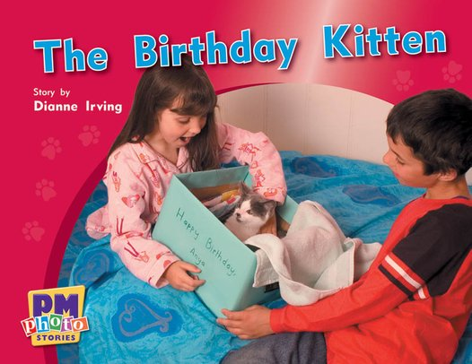 PM Yellow: The Birthday Kitten (PM Photo Stories) Level 8 x 6