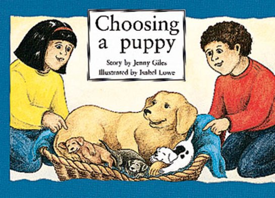 Choosing a Puppy (PM Storybooks) Level 7