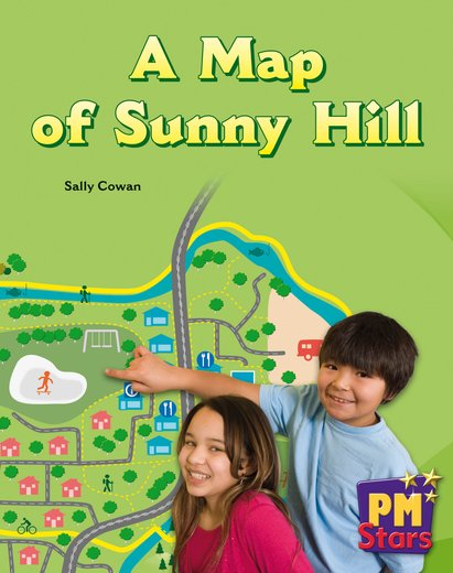 PM Green: A Map of Sunny Hill (PM Stars) Level 14/15 x 6