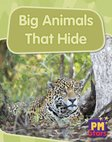PM Blue: Big Animals That Hide (PM Stars) Levels 11, 12 x 6