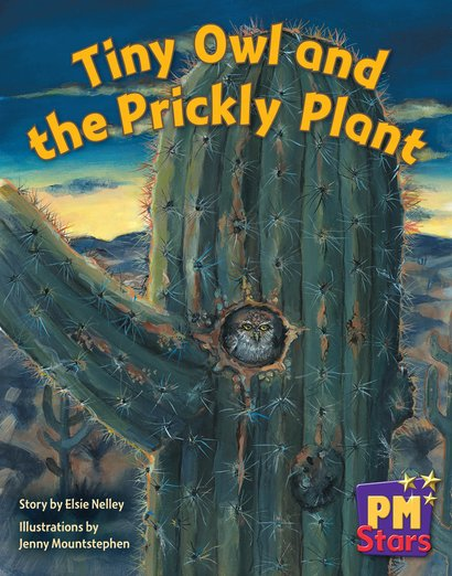 PM Blue: Tiny Owl and the Prickly Plant (PM Stars) Level 11 x 6