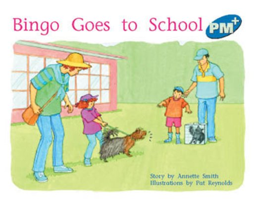 PM Blue: Bingo Goes to School (PM Plus Storybooks) Level 9 x 6