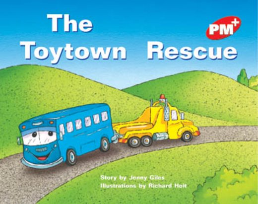 PM Red: The Toytown Rescue (PM Plus Storybooks) Level 5 x 6