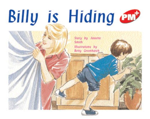 PM Red: Billy is Hiding (PM Plus Storybooks) Level 5 x 6