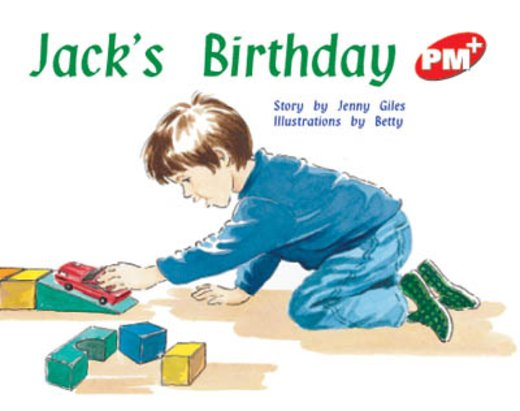 PM Red: Jack's Birthday (PM Plus Storybooks) Level 4 x 6