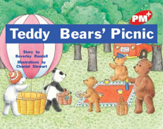 PM Red: Teddy Bear's Picnic (PM Plus Storybooks) Level 3 x 6