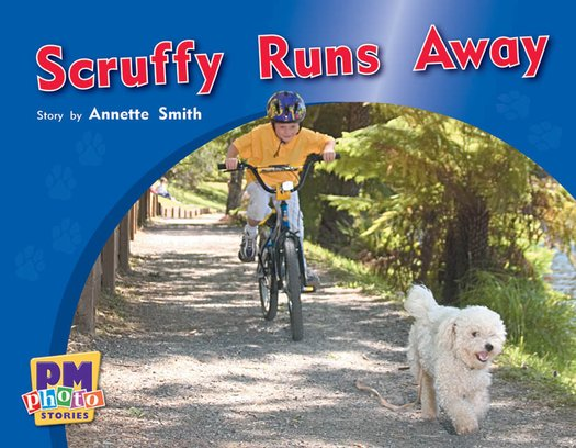 Scruffy Runs Away (PM Photo Stories) Level 10