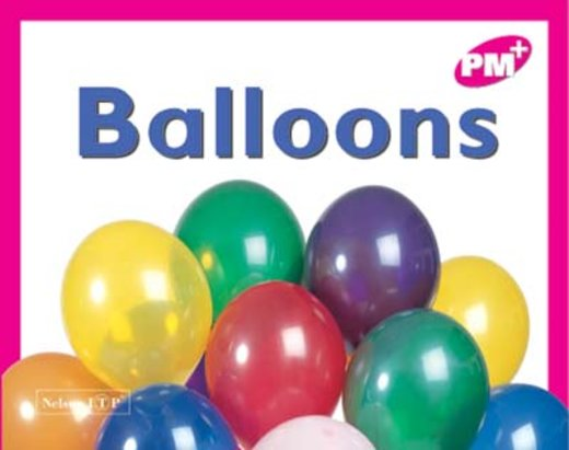 PM Magenta: Balloons (PM Plus Starters) Level 1 x 6