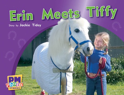 PM Red: Erin Meets Tiffy (PM Photo Stories) Level 5 x 6