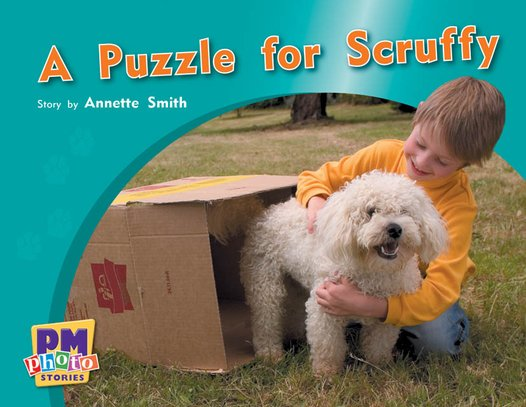 PM Red: A Puzzle for Scruffy (PM Photo Stories) Level 5 x 6