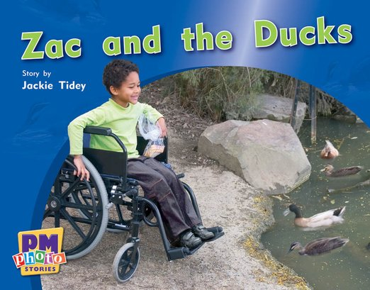 PM Red: Zac and the Ducks (PM Photo Stories) Level 4 x 6