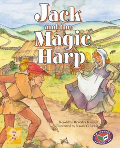 PM Gold: Jack and the Magic Harp (PM Traditional Tales and Plays) Levels 21, 22 x 6