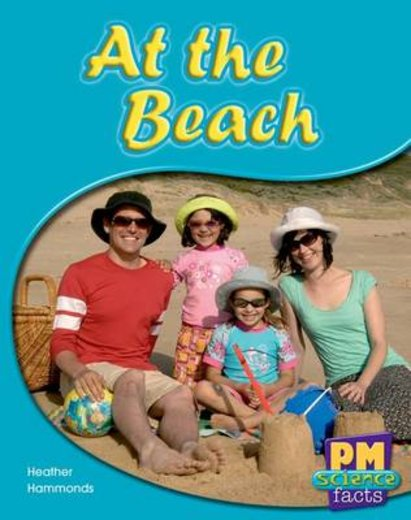 PM Red: At the Beach (PM Science Facts) Levels 5, 6 x 6