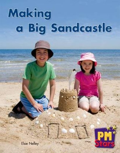 PM Red: Making a Big Sandcastle (PM Stars) Levels 5, 6 x 6