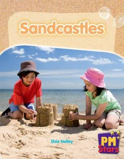 PM Red: Sandcastles (PM Stars) Levels 5, 6 x 6