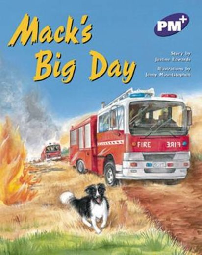 PM Purple: Mack's Big Day (PM Plus Storybooks) Level 20 x 6