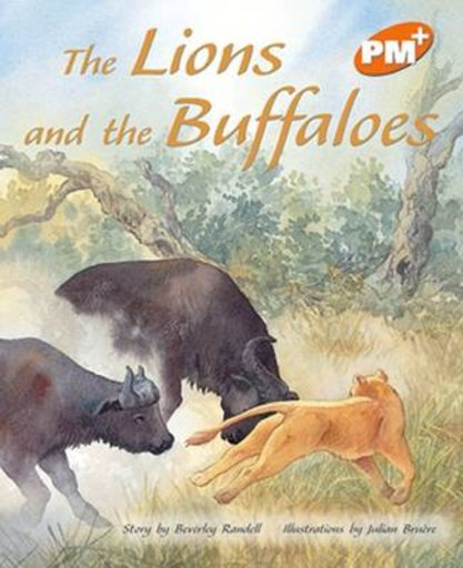 PM Orange: The Lions and the Buffaloes (PM Plus Storybooks) Level 16 x 6