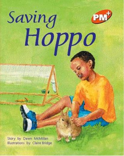 PM Orange: Saving Hoppo (PM Plus Storybooks) Level 15 x 6