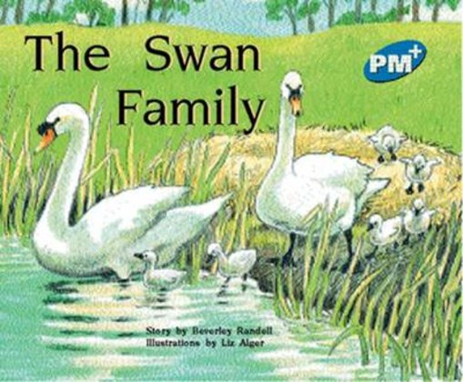PM Blue: The Swan Family (PM Plus Storybooks) Level 10 x 6