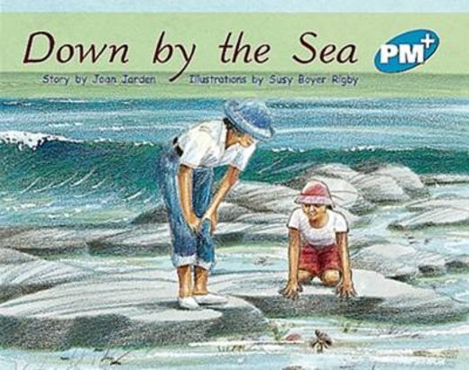 PM Blue: Down by the Sea (PM Plus Storybooks) Level 11 x 6