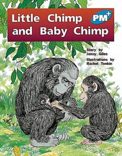 PM Blue: Little Chimp and Baby Chimp (PM Plus Storybooks) Level 10 x 6