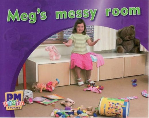 PM Magenta: Meg's Messy Room (PM Photo Stories) Levels 2, 3 x 6