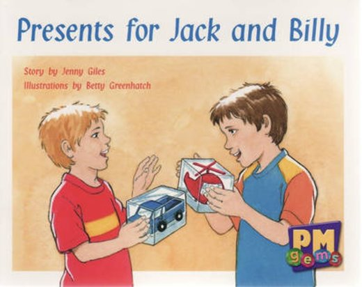 PM Red: Presents for Jack and Billy (PM Gems) Level 5 x 6
