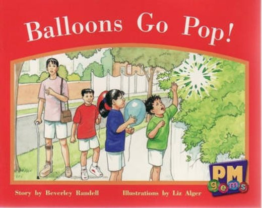 PM Red: Balloons Go Pop (PM Gems) Level 4 x 6