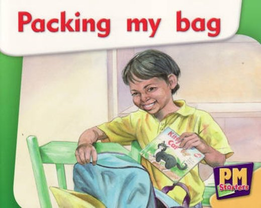 PM Magenta: Packing My Bag (PM Starters) Levels 2, 3 x 6