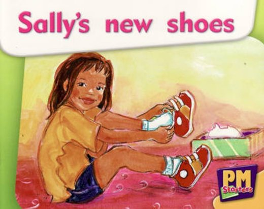 PM Magenta: Sally's New Shoes (PM Starters) Levels 2, 3 x 6